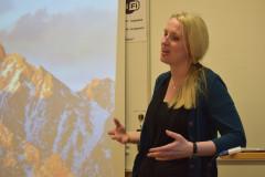 Amalia Juneström föreläser för VoF, maj 2017