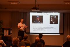 Andreas Jakobsson föreläser om  AI 4 okt 2018