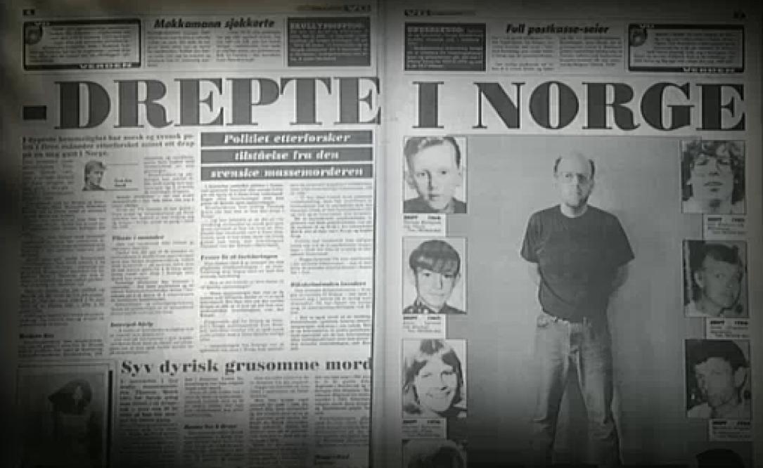Exempel på norsk tidningsartikel om morden