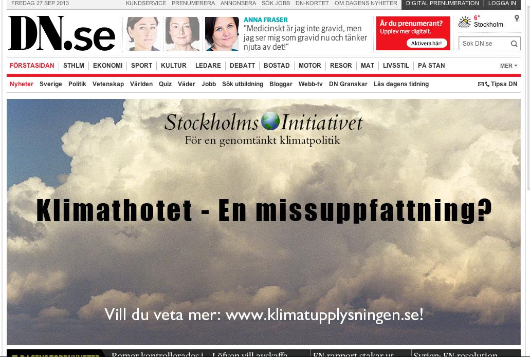 Stockholmsinitiativets reklamkampanj