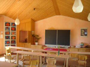 Klassrum i Waldorfskola (foto av Florian K.)