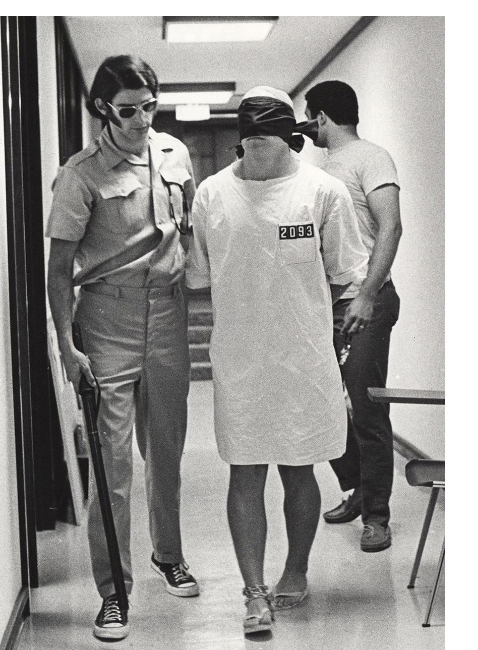 Bild från Stanfordexperimentet 1971