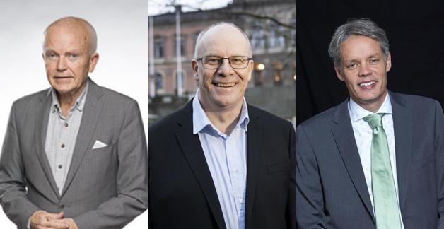Anders Hagfeldt, Staffan Yngve och Ulf Danielsson