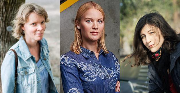 Vetenskapsjournalistikens roll och prövningar - Emma Frans, Maria Gunther och Anna Davour