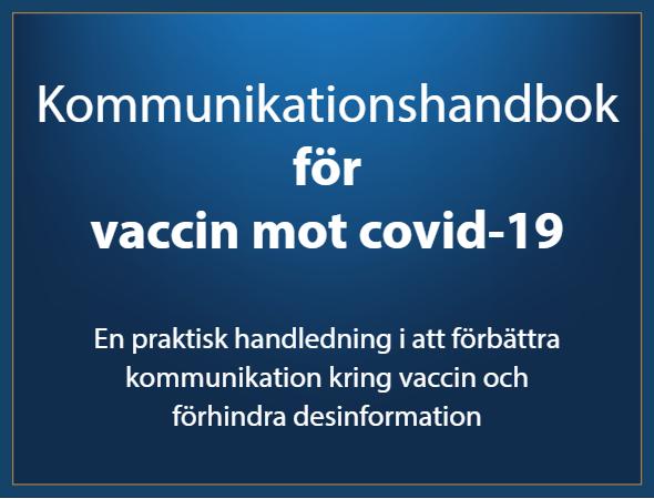 Kommunikationshandbok för vaccin mot covid-19