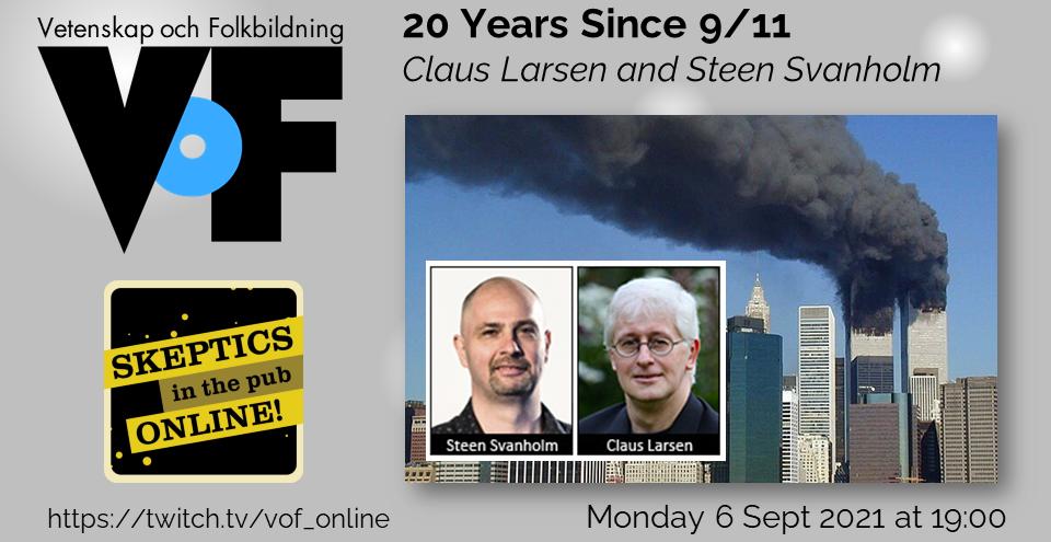 Skeptics in the Pub Online 6 september 2021