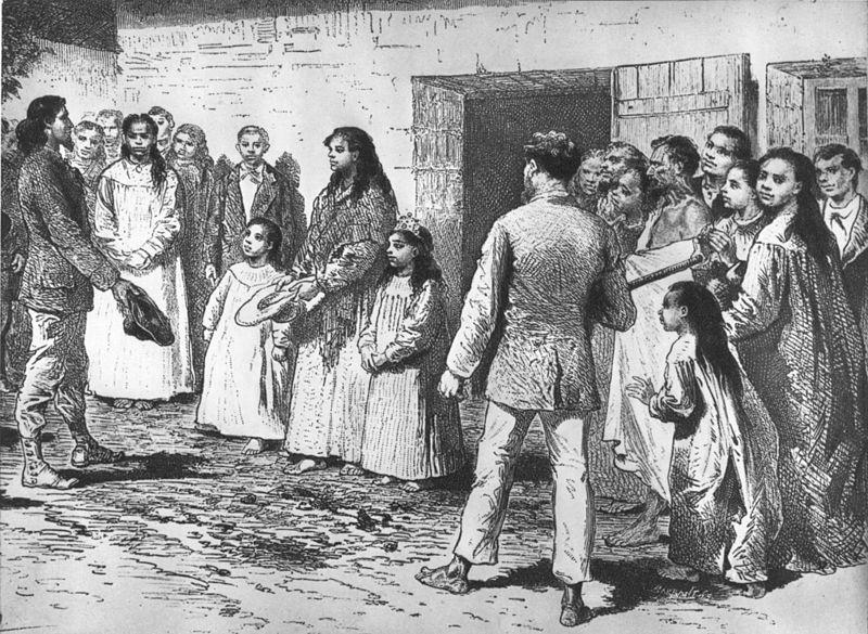 Alphonse Pinart möter Påsköns drottning 1877