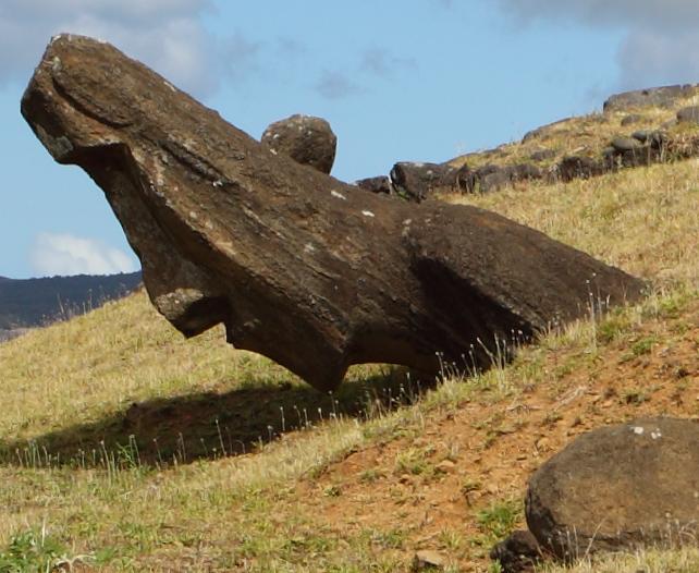 Moai-staty