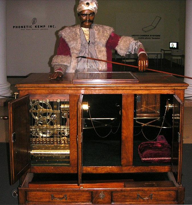 Rekonstruktion av Den mekaniska turken