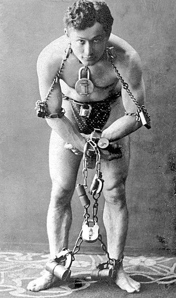 Harry Houdini 1899
